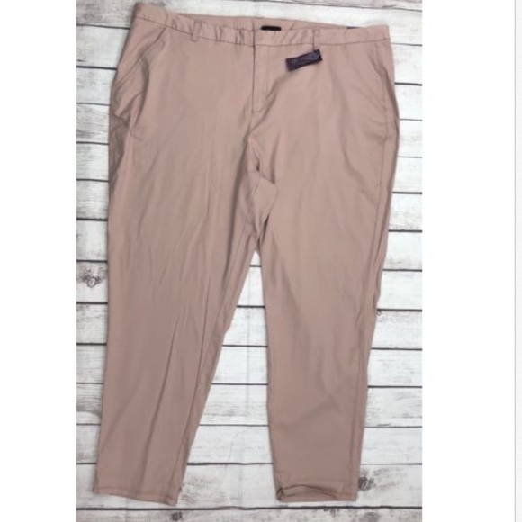 7ca617554104e Lane Bryant Boyfriend Chino Casual Pants. NWT